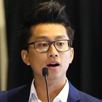 Cris D Tran at Seamless Vietnam 2017