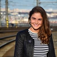 Barbora Mickova at World Rail Festival