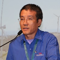 Van Thinh Bui | Chairman Of Management Board And Chief Executive Officer | EVNTBW Thuan Binh Wind Power Join Stock Company » speaking at Wind Show Vietnam