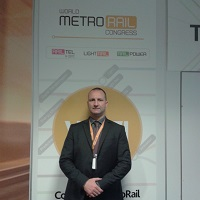 Andrea Bruschi at World Metro & Light Rail Congress & Expo 2018 - Spanish