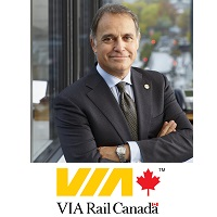 Yves Desjardins Siciliano, President and Chief Executive Officer, VIA Rail Canada