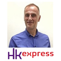 Jonathan Hutt, Commercial  Director, HK Express