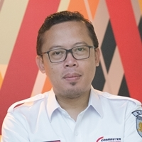 Fredi Firmansyah at Asia Pacific Rail 2018