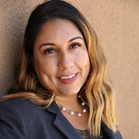Mariette Martinez at Accounting & Finance Show LA 2018