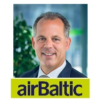 Martin Gauss, Chief Executive Officer, AirBaltic
