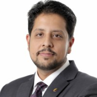 Ghulam Raza Bhojani at Accounting & Finance Show Middle East 2018