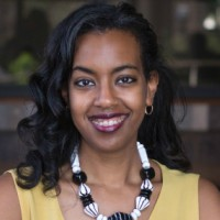 Adedana Ashebir at Seamless East Africa 2018