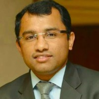 Manu Nair at Accounting & Finance Show Middle East 2018