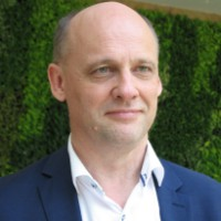 Juergen Hase at Telecoms World Middle East 2018