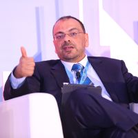 Mohamed Roushdy at Accounting & Finance Show Middle East 2018