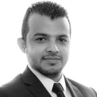 Ahmed Gomaa at Accounting & Finance Show Middle East 2018