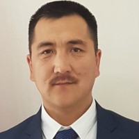 Azis Saparaliev at The Mining Show 2018