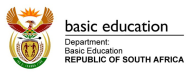 The Department of Basic Education at EduTECH Africa 2019