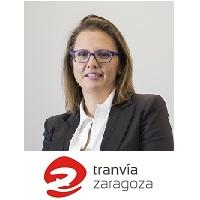 Ana Maria Moreno | General Manager | Los Tranvías de Zaragoza » speaking at Rail Live