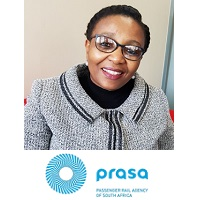 Thandeka Buthelezi, Executive Manager: Customer Services, PRASA