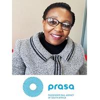 Thandeka Buthelezi, Executive Manager: Customer Services, PRASA