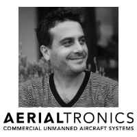 Michele Moscaritolo at The Commercial UAV Show