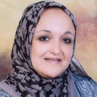 Lamya Youssef Abdel Hakim at The Solar Show MENA 2019