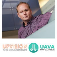 Jakub Karas at The Commercial UAV Show