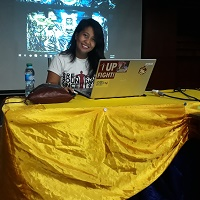 Maria Rizza Fernandine De Asis at EduTECH Philippines 2018
