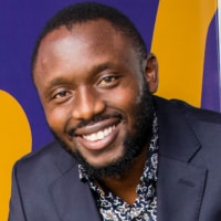 Fredrick Kirui at Seamless East Africa 2018
