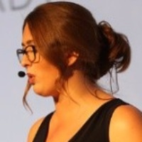 Harriet Elvin at Seamless Middle East 2019