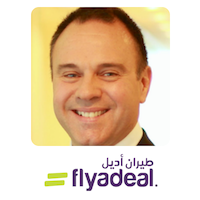 Con Korfiatis | Chief Executive Officer | flyadeal » speaking at Aviation Festival