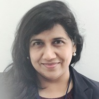 Sheena Ganesh at Accounting & Finance Show Middle East 2018