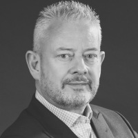 David Linklater at Accounting & Finance Show Middle East 2018