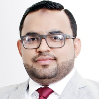 Saqib Ali Shah at Accounting & Finance Show Middle East 2018