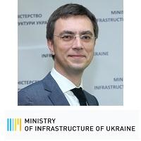 Volodymyr Omelyan, Minister, Ministry of Infrastructure, Ukraine