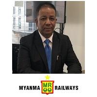 Ba Myint | SeniorGeneral Manager | Myanmar Railways- Ministry Of Rail Transportation » speaking at Rail Live