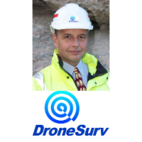 Adrian Charters at The Commercial UAV Show