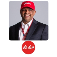 Tony Fernandes at World Aviation Festival