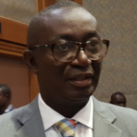 Hon Minister Andy Appiah-Kubi at Middle East Rail 2019