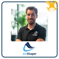 Wouter Remmerie | Founder | AirShaper » speaking at UAV Show