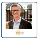 Chris Hewett at Solar & Storage Live 2019