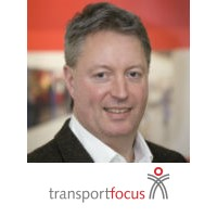 Ian Wright | Head of Innovation and Partnerships | Transport Focus » speaking at Rail Live