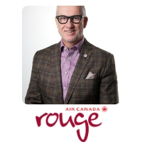 Duncan Bureau | President | Air Canada Rouge » speaking at Aviation Festival