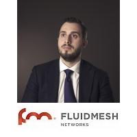Marco Tagliabue | Sales Director, EMEA | Fluidmesh » speaking at Rail Live