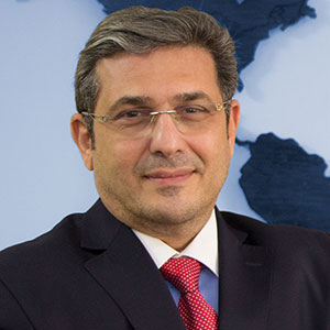 Anwar Kawtharani speaking at EduTECH Arabia