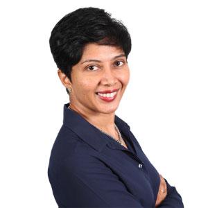 Sumitra Nair speaking at Edutech Malaysia