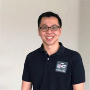 Galvin Ngo speaking at EDUtech Philippines
