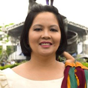 Joane Serrano speaking at EDUtech Philippines