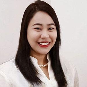 Shella Mae W Pareja speaking at EDUtech Philippines