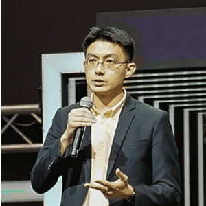 Edwin Koh speaking at Telecoms World Asia
