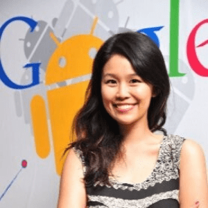 Su Ann Lim, Industry Head Telco & Technology, Google speaking at Telecoms World Asia