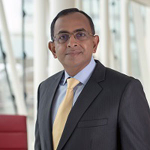 Ashok Kalyanswa speaking at The Trading Show